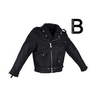 Teens Leather Motorcycle Jacket